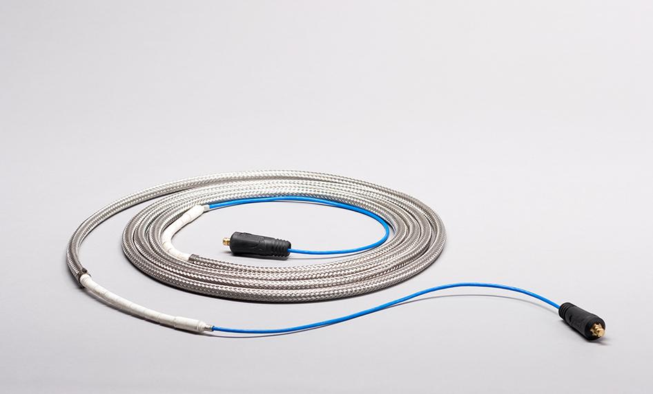 Cable calentador de una vía