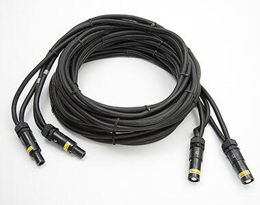 Cable para energía eléctrica, refrigerado por aire