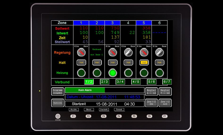 Sistema de regulación DIGIT 1000