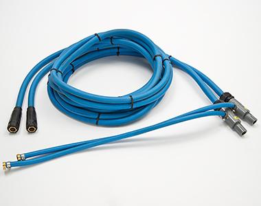 Cable para energía eléctrica, refrigerado por agua